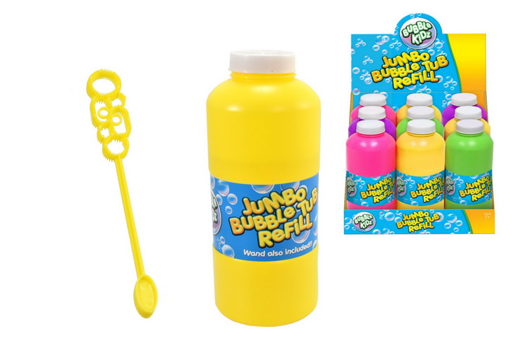 500ml Bubble Tub - 4 Assorted Colours In Display Box