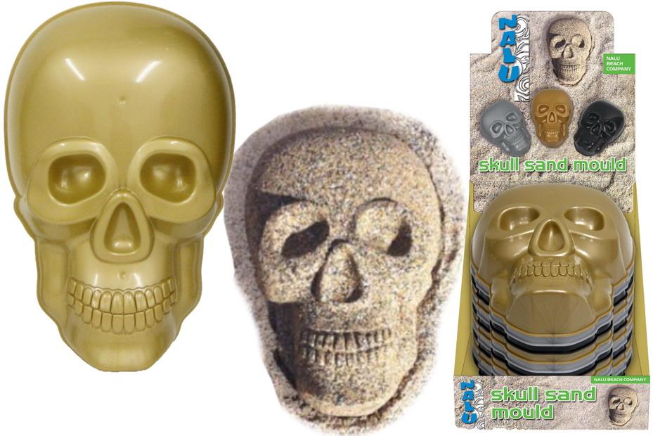 "Skull Sand Mould In Display Box ""Nalu"""