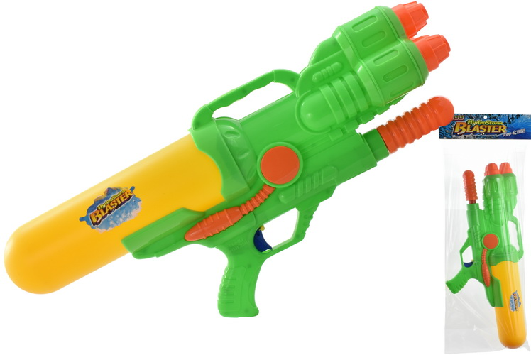 58cm Watergun With 3 Nozzles Pvc Header Bag