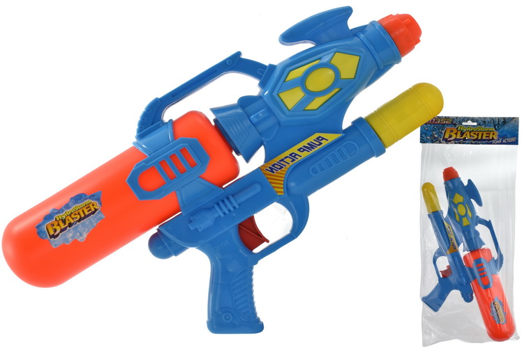 43cm Air Pressue Water Gun In Poly Bag Header