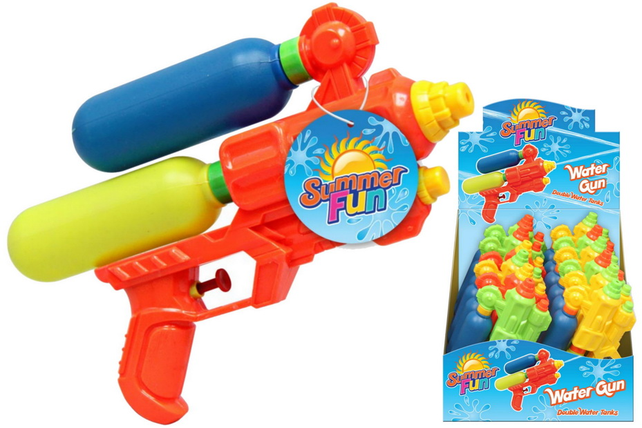24cm Double Tank Watergun In Display Box
