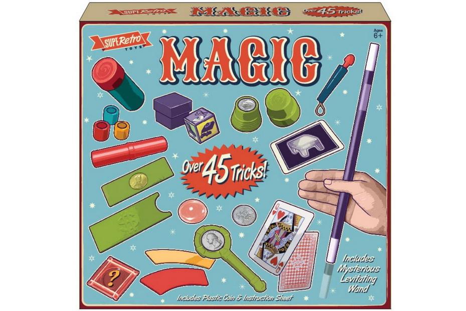 45 Tricks Magic Set In Printed Box