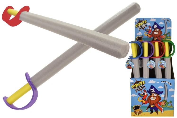 67cm Eva Foam Sword In Display Box - Pirates