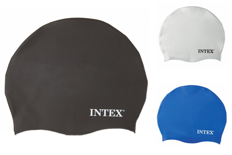 Silicon Swim Cap (Ages 8+) 3 Assorted Colours