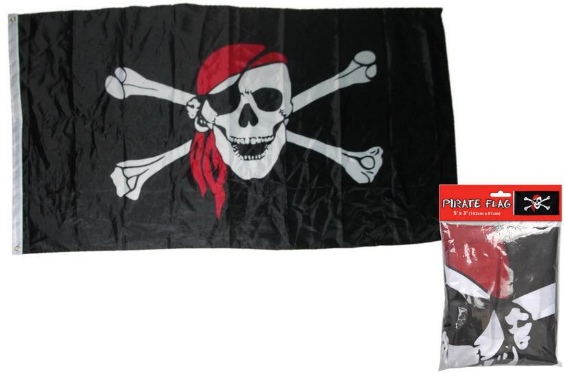 5' x 3' Pirate Flag