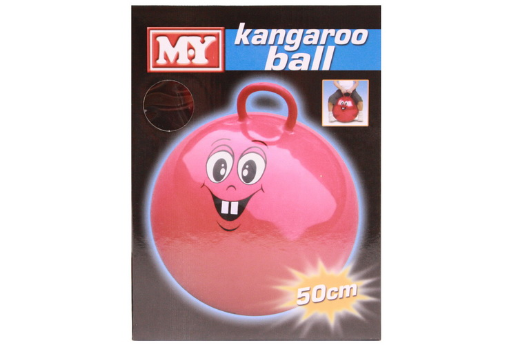 "50cm Kangaroo Ball In Colour Box 500gm ""M.Y"""