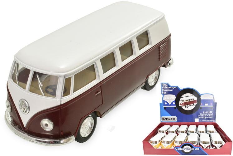 1:32sc Volkswagen Camper Van In Display Box