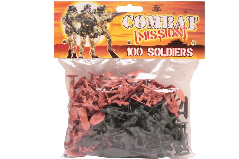 """100pc Soldier Set - """"Combat Mission"""""""