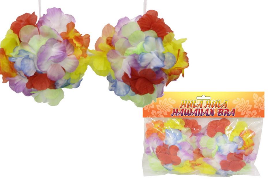 Hula Hula Hawaiian Bra - Opp Bag With Headercard