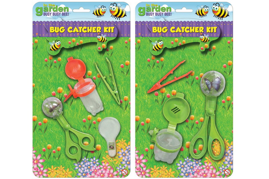 "Bug Catcher Kit (2 Asst) On B/Card ""In The Garden"""