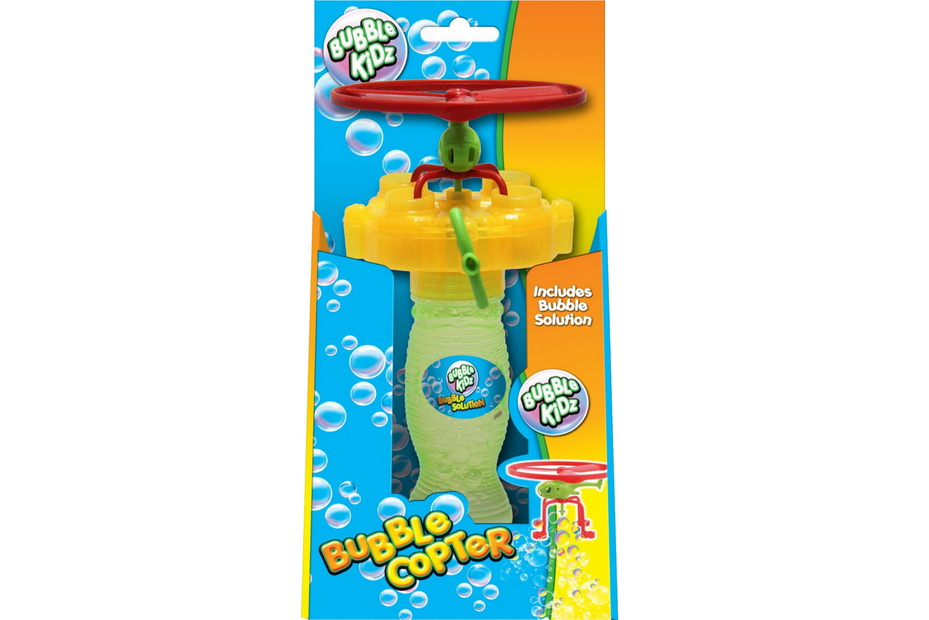 "Bubble Copter In Open Touch Box ""Bubble Kidz"""