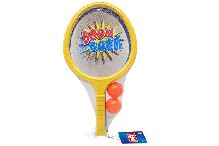 "Large Boom Boom Bat Playset In Net Bag ""M.Y"""