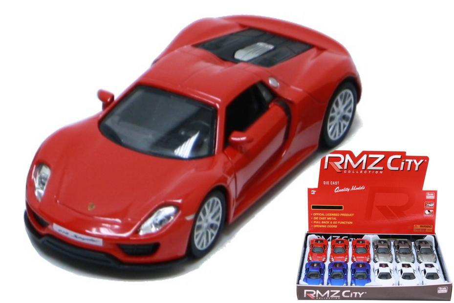 Porsche 918 Spyder Die Cast Car 1:32sc (4 Asst) In Dbx