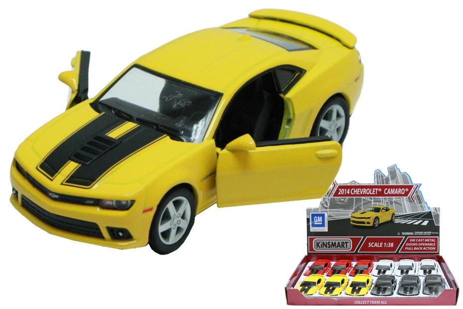 2014 Chevrolet Camaro Die Cast Car 1:38sc In Display Bx