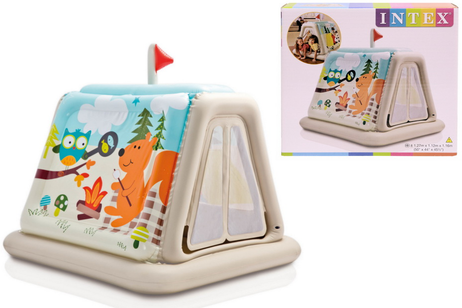 Animal Trails Indoor Play Tent In Shelf Box