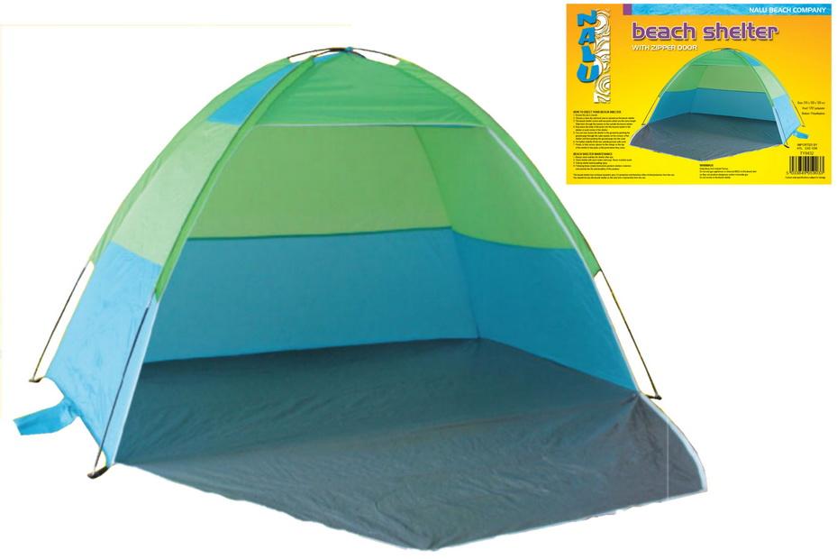 210 x 120 x 120cm Monodome Beach Tent (Zip Door)