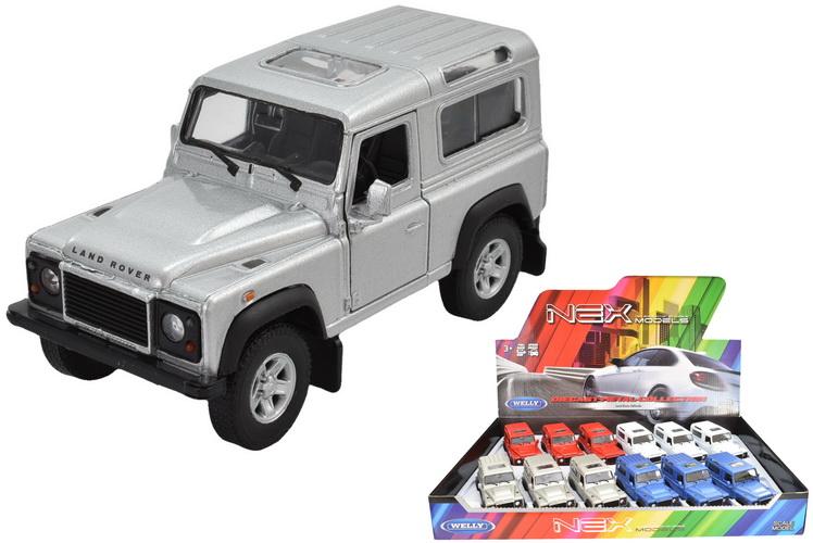 """4.25"""" Die Cast Land Rover Defender In Display Box"""