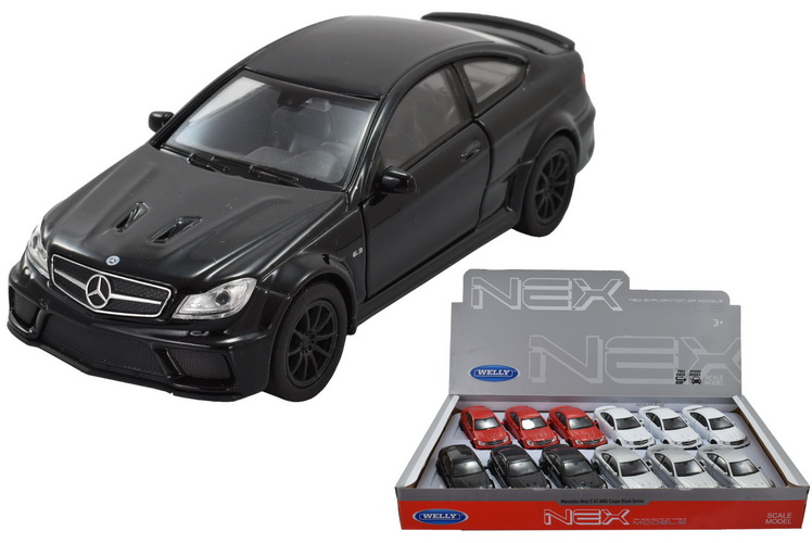 """4.75"""" Die Cast C63 Mercedes Amg Coupe In Display Box"""