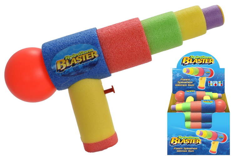 Foam Splasher Water Gun In Display Box