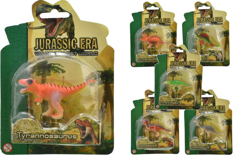 Dinosaurs 6 Assorted On Blistercard