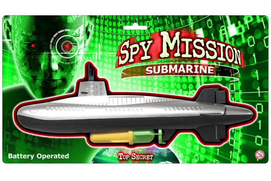 B/O Submarine On Blistercard