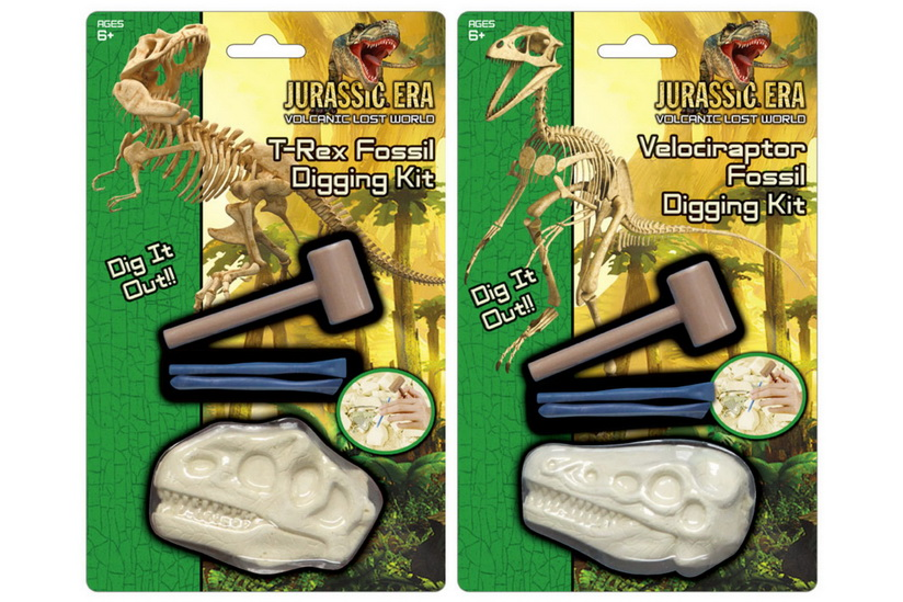 Dinosaur Skull Fossil Excavation Kit On Blistercard