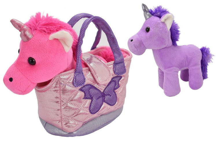 Unicorns In Bag 3 Assorted Colours