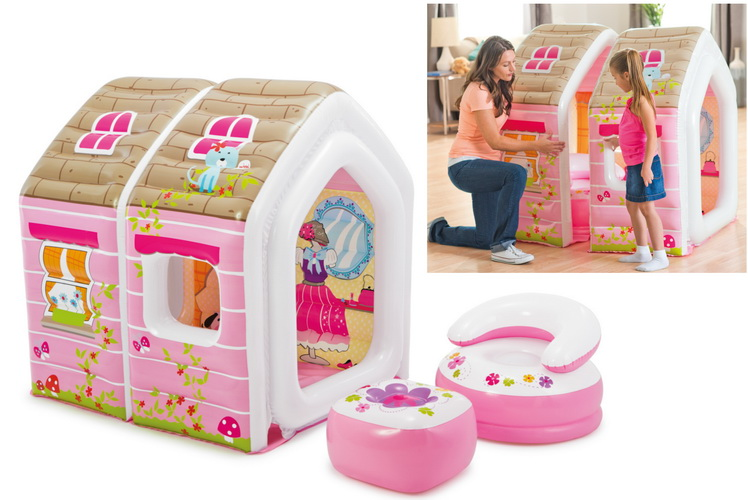 "49"" x 43"" x 48"" Princess Play House"