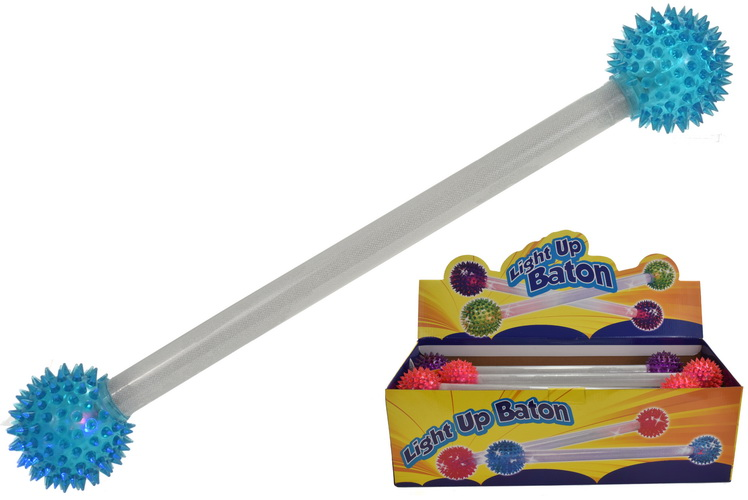 43cm Double Light Up Baton In Display Box