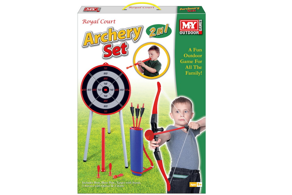 "Archery Set In Colour Box ""M.Y"""