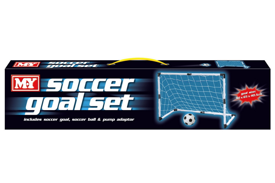 "Soccer Goal Set In Colour Box ""M.Y"""