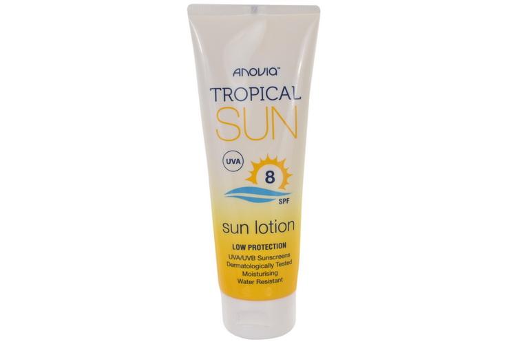 Tropical Sun Spf 8 Sun Lotion 100ml
