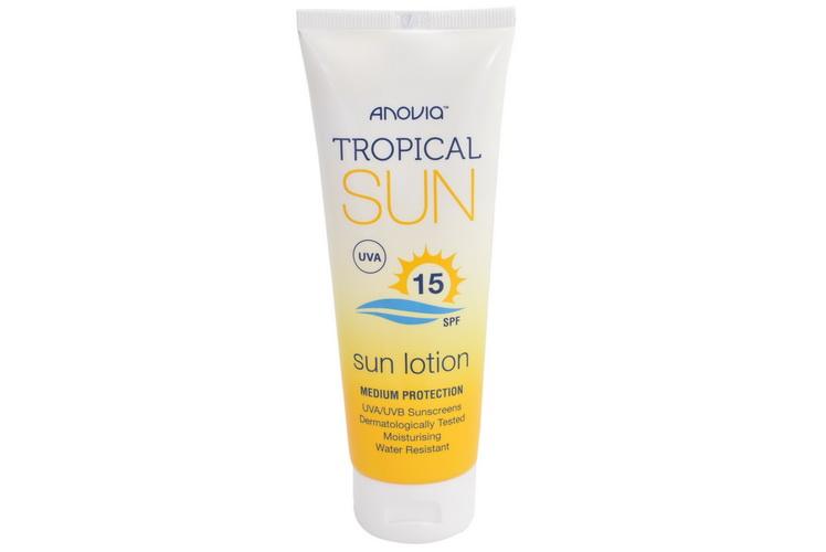 Tropical Sun Spf 15 Sun Lotion 100ml