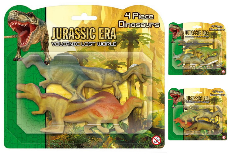 Dinosaur Playsets (3 Assorted) Blistercard