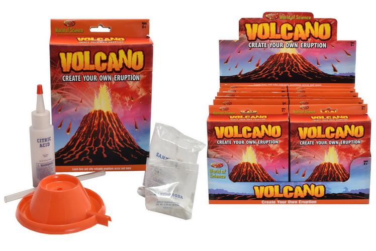 Volcano Kit In Colour Box/Display Box