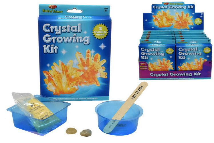 Crystal Growing Kit In Colour Box/Display Box