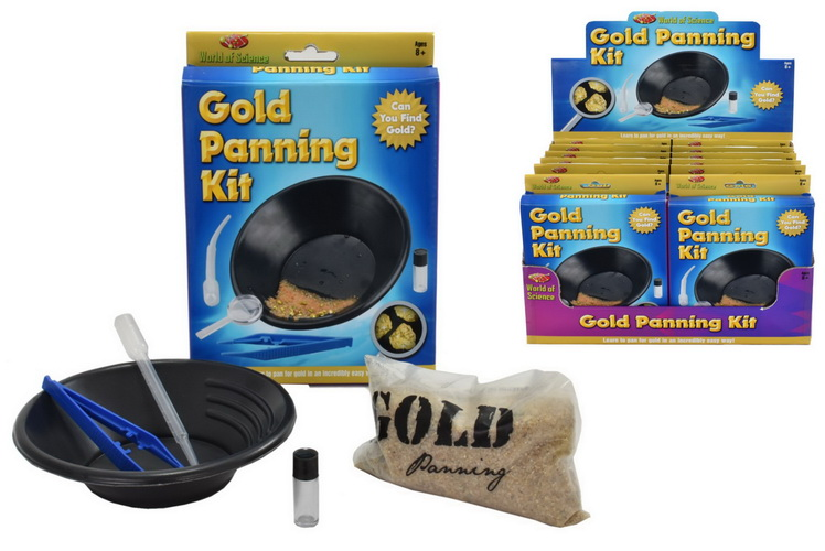 Gold Panning Kit In Colour Box/Display Box