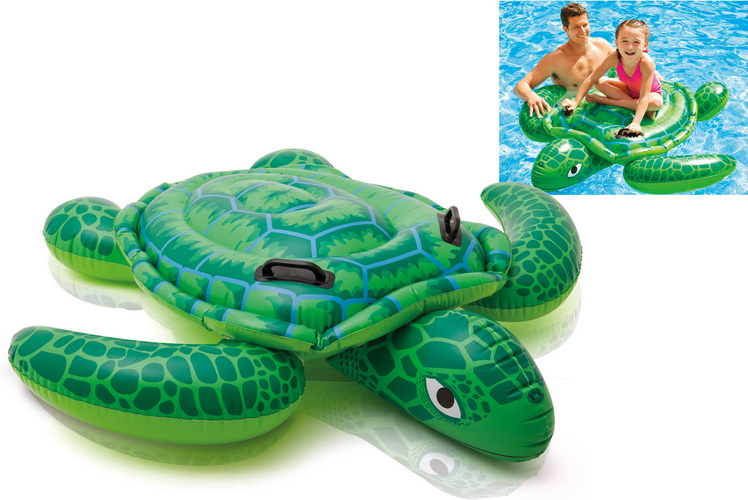 """Lil' Sea Turtle Ride On 59"""" x 50"""""""