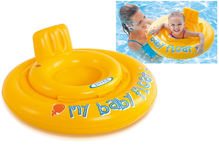 """27.5"""" My Baby Float (Ages 6-12mths) In Peg Box"""