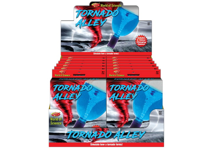 Tornado Tube Playset - Hanging Box & Display Box