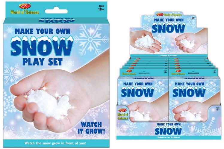 Make Your Own Snow Playset -Hanging Box & Display Box