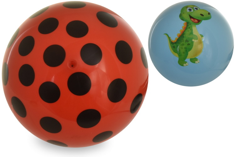 """6.5"""" 80g Dino Print & Spotted Print Ball 2 Assorted"""