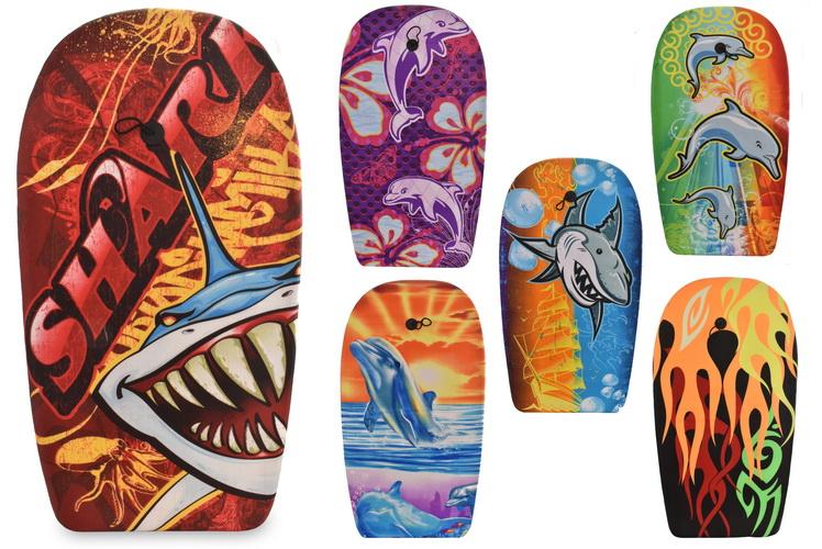 "41"" Eps Bodyboards - 6 Assorted Designs"