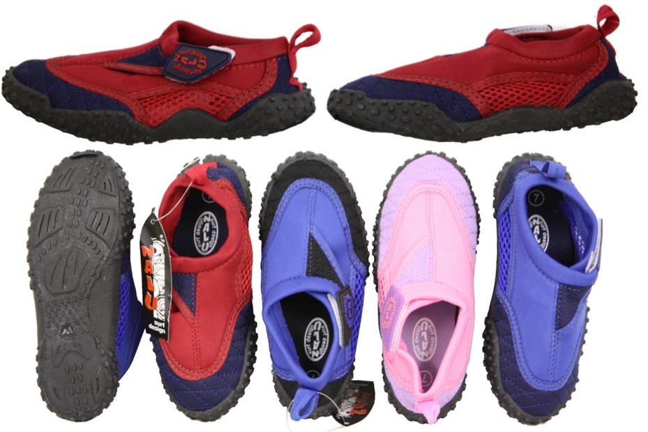 """Childs Size  5 Aqua Shoe - """"Nalu"""""""