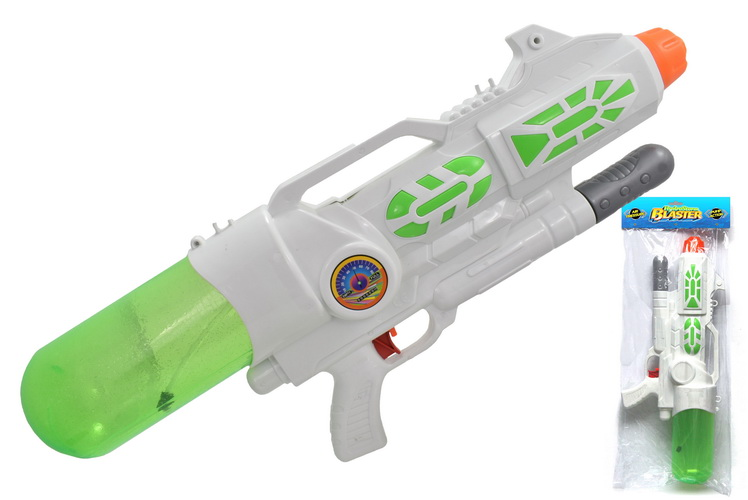 "59cm Air Pressure Water Gun ""Hydrostorm"" In Pvc Bag"