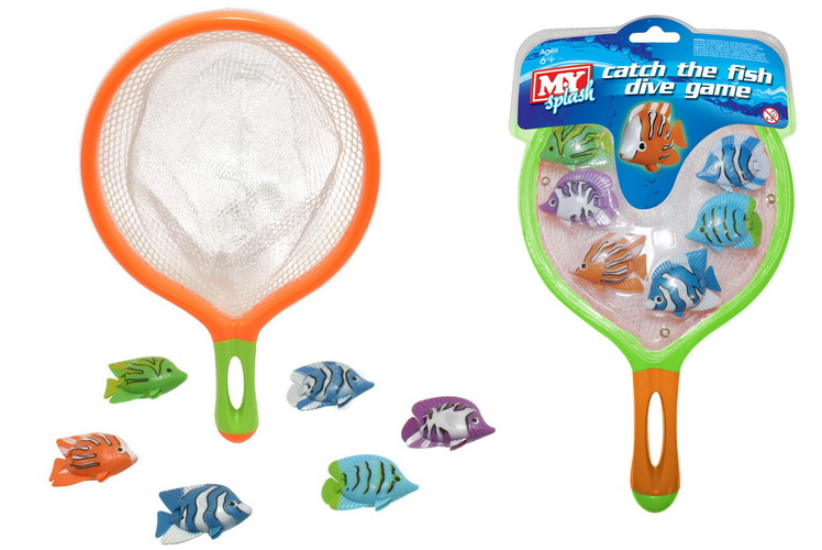 Catch The Fish Dive Game - Clam Pack Hanger