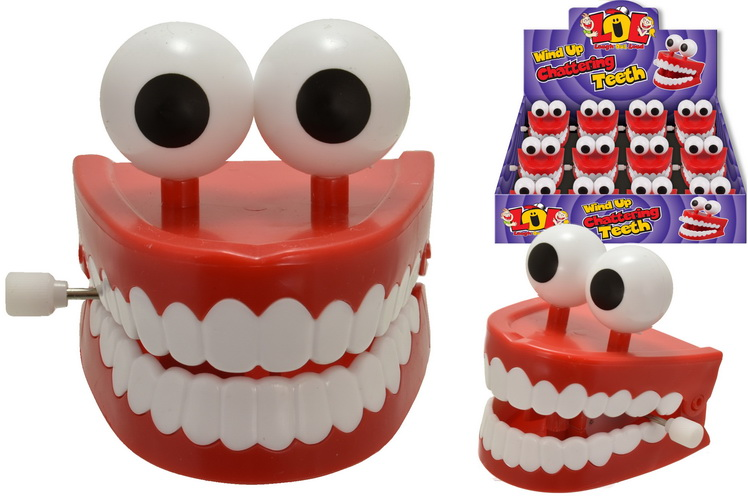 Wind Up Chattering Teeth (Large) In Display Box