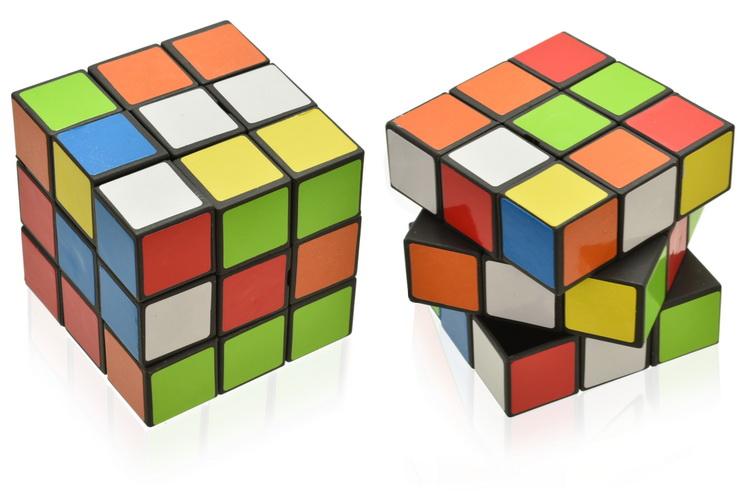5cm x 5cm Puzzle Cube In Display Box